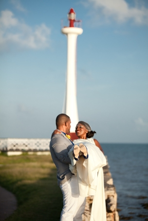 Belize city wedding