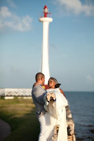 Belize city wedding