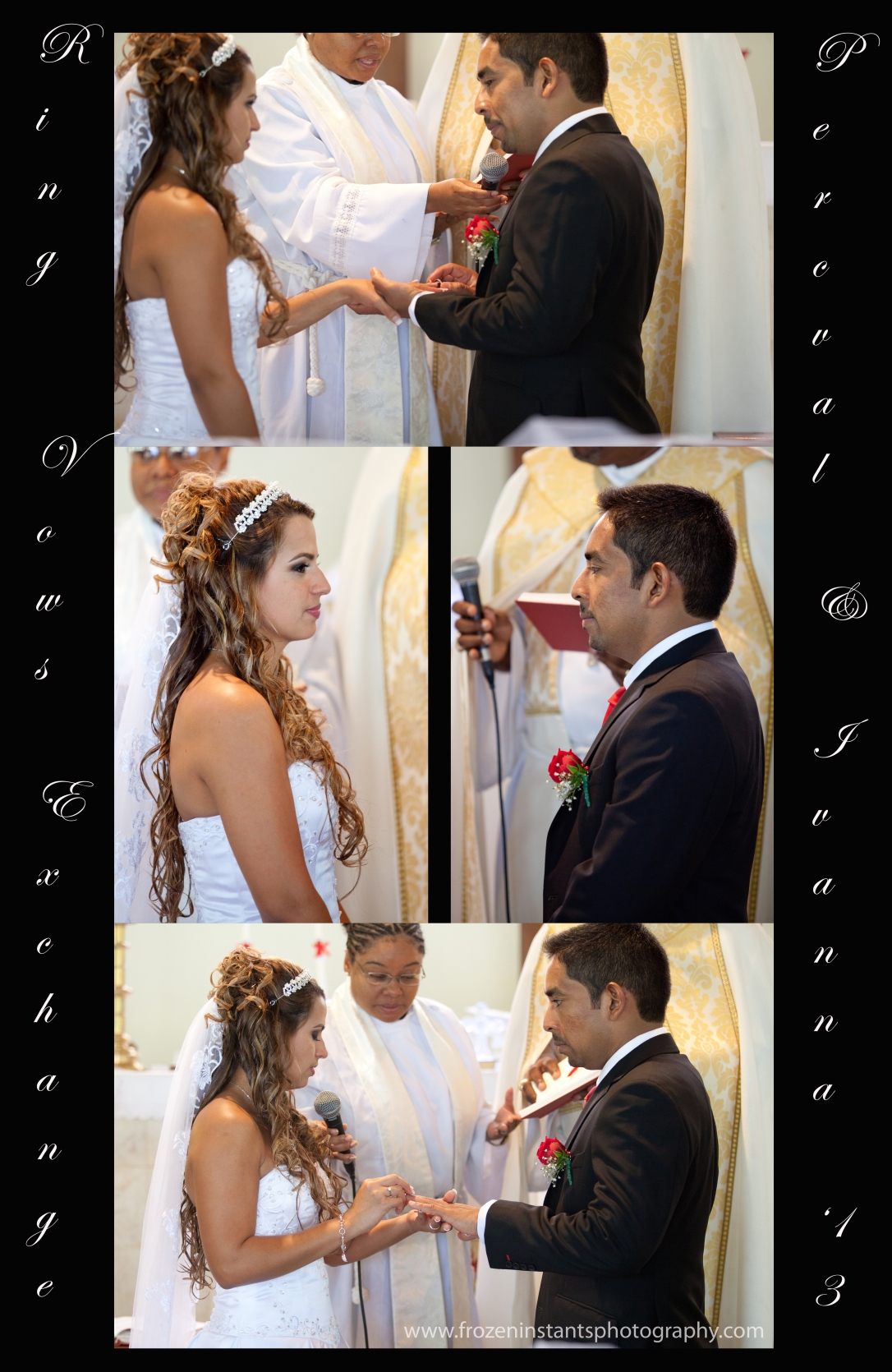 Vows and Ring exchange