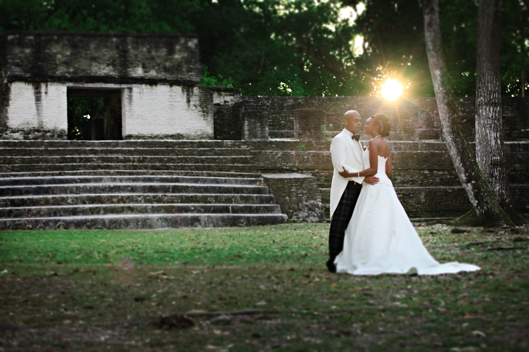 Mayan Ruin Wedding photos