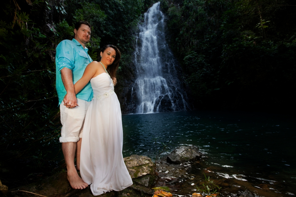Belize Waterfalls Wedding