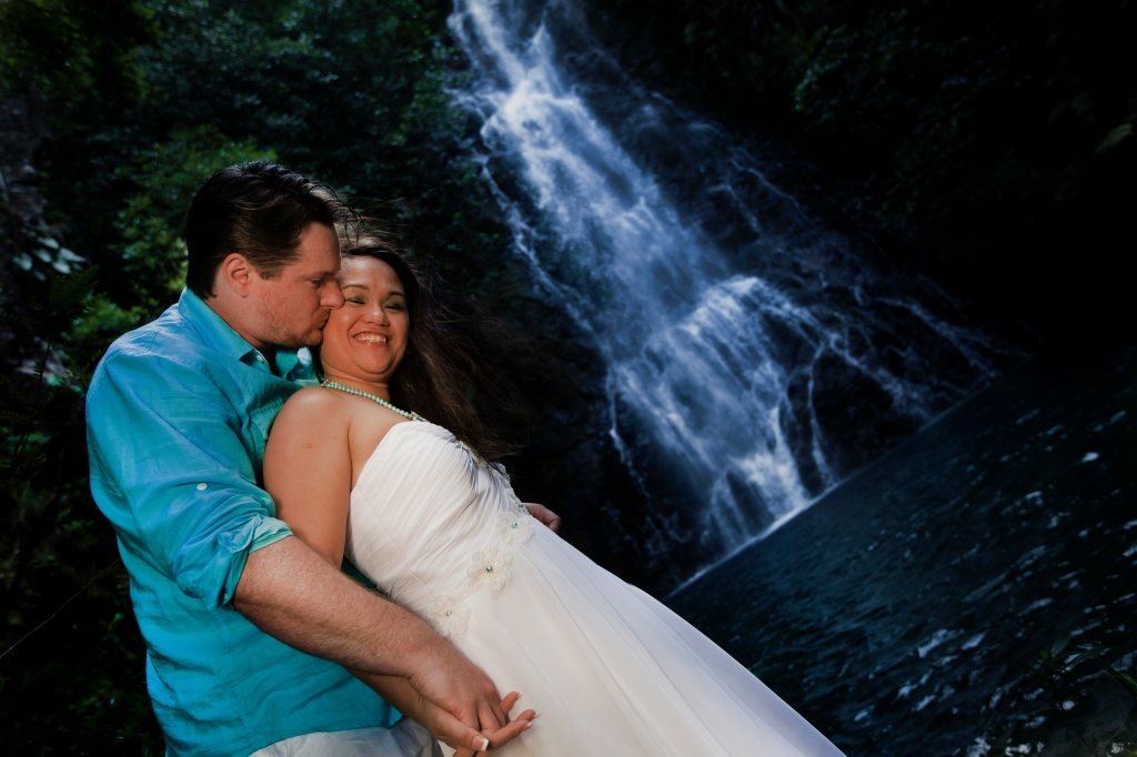 Buuterfly Falls Wedding